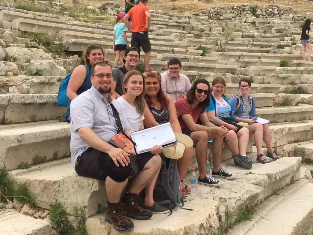 Students at Dionysis