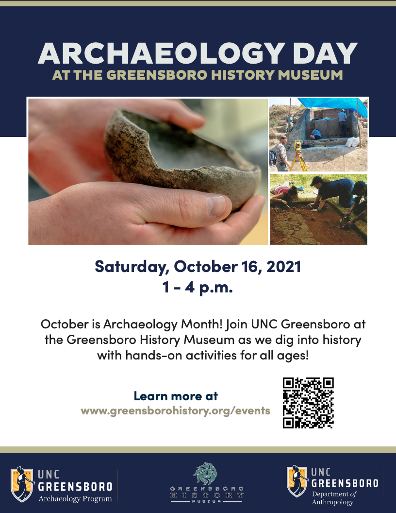 Archaeology Day Flyer